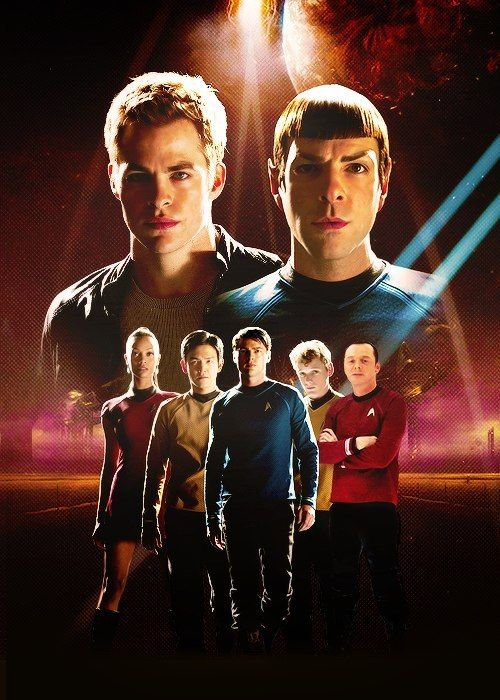 Star Trek cast #startrek #startrek2009 #jjabrams