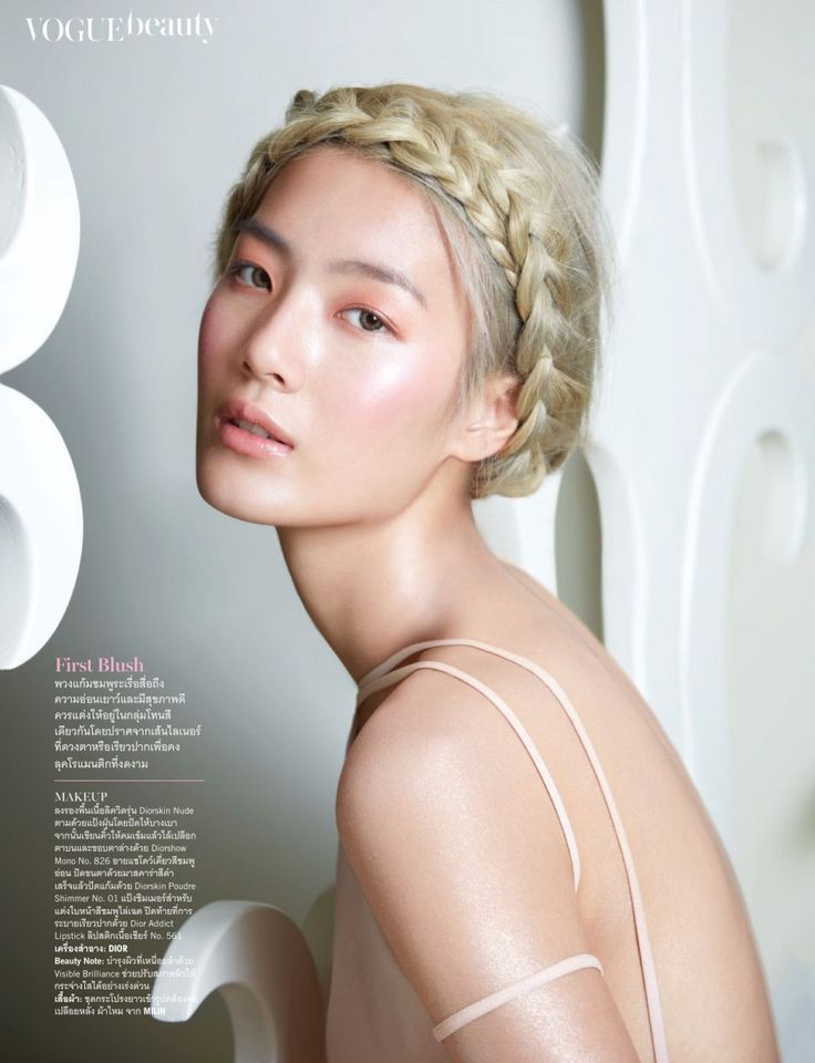 Kamonphan Suvanamas by Tada Varich for Vogue Thailand June 2013