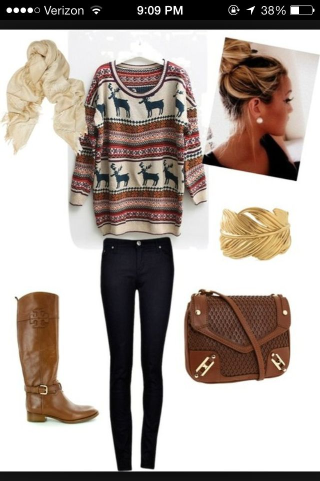 Cute outfit for a casual winter party | Cute outfits | Pinterest | Casual winter Style and Outfit