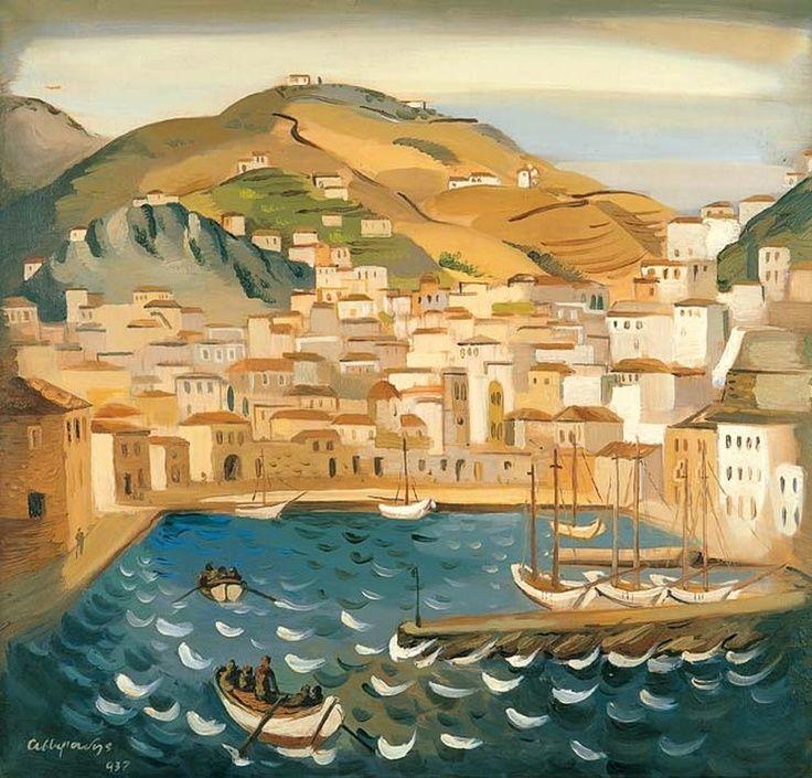 Asteriadis Aginor [1898-1977] Αστεριάδης Αγήνωρ-Ύδρα, 1937