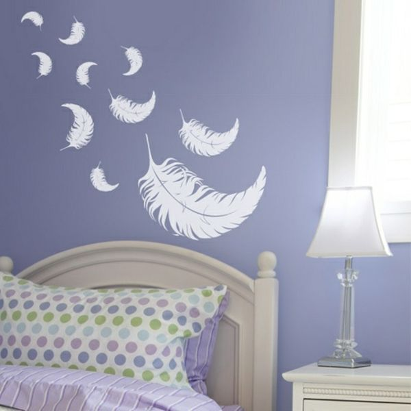 Die besten 25+ Federtapete Ideen auf Pinterest Feder muster - wohnideen fürs schlafzimmer