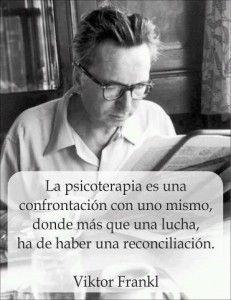 Psicoterapia, Viktor Frankl  oh mi amada psicología, te amo!