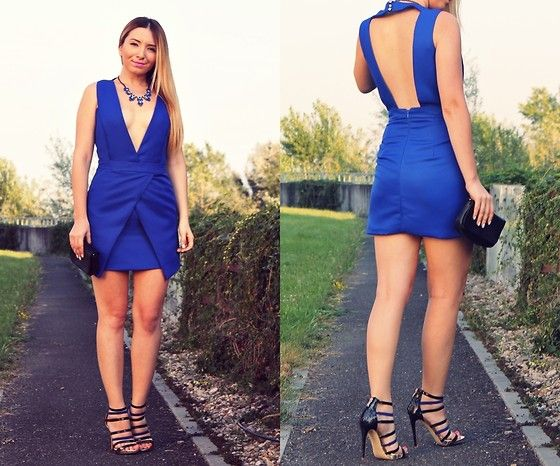 Get this look: http://lb.nu/look/7658610  More looks by Andreea  Ristea: http://lb.nu/andreeadesign  Items in this look:  Romwe Royal Blue Dress