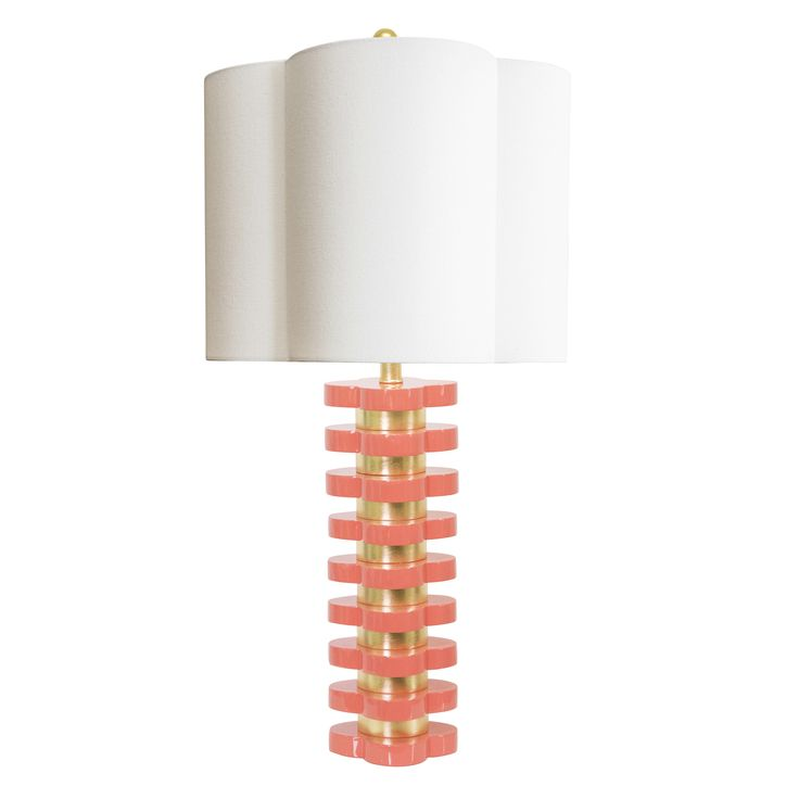 "Quatrefoil 32"" H Table Lamp with Novelty Shade"