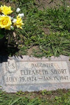 Grave of the Black Dahlia - Oakland. One of america's most famous murder victims.