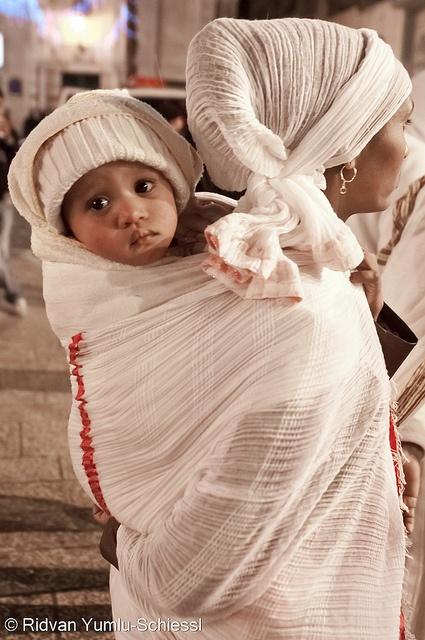Ethiopian Orthodox Christmas Celebration by Beautiful Faces of Palestine, via Flickr.