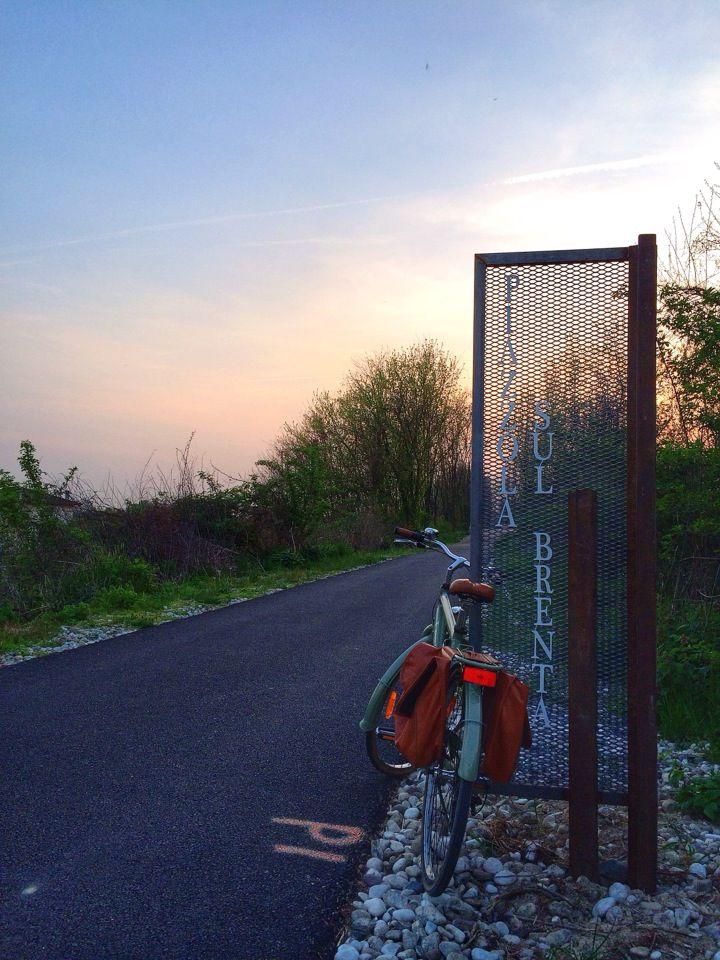Ostiglia-Treviso Pista ciclo-pedonale Confine tra Piazzola sul Brenta e Campo San Martino