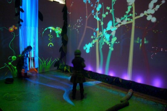Beautiful Technology -- Funky Forest. A #TheoWatson work.