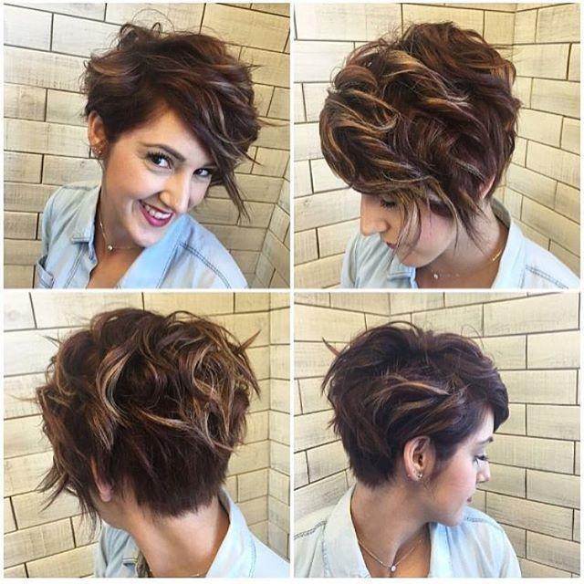 Asymmetrical Pixie Haircut Cut It Short Pinterest And