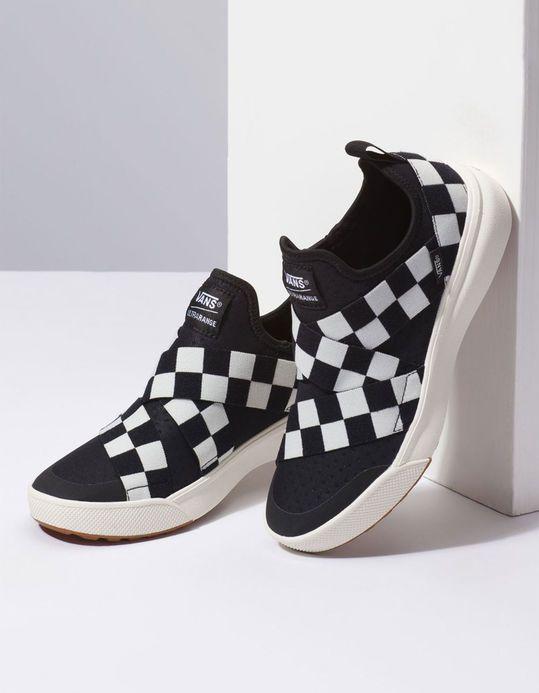 bb74f78f81b VANS UltraRange Gore Mega Check Womens Shoes