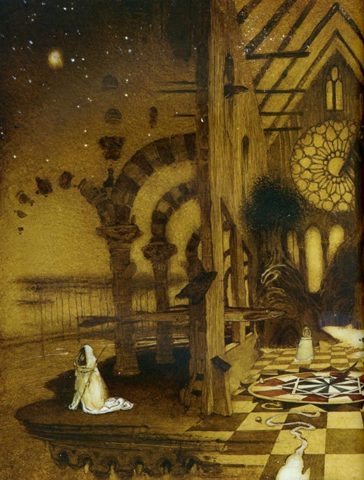 Cyril Chelushkin ~ Alice in the Magician's House - Fairy Room
