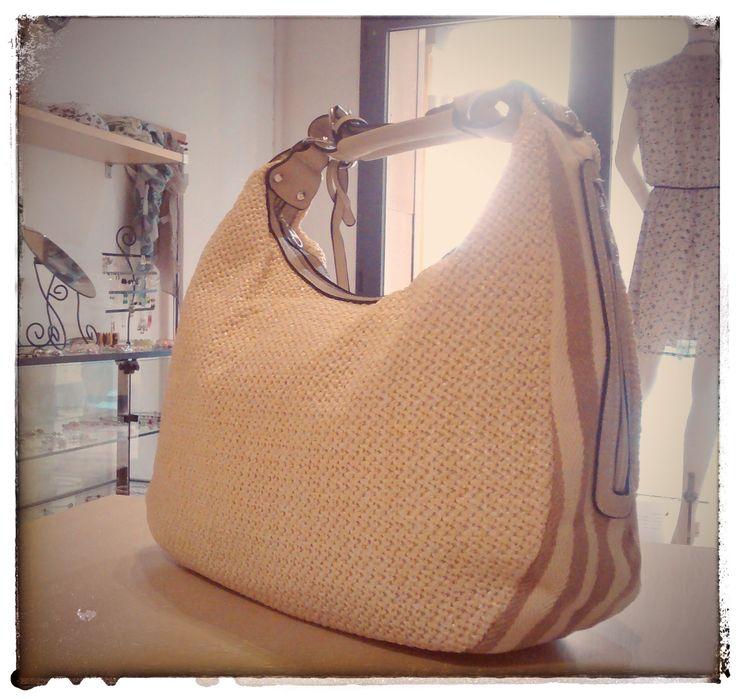 Borsa in tessuto #SS16 #bags #borse #summer #saldi #saldiestivi #estate2016 #bologna