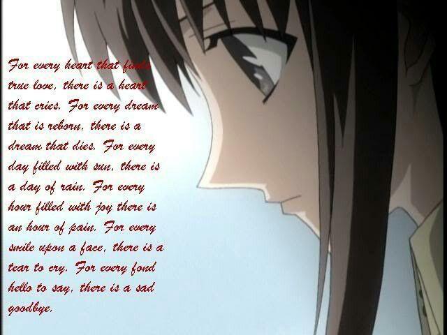 Anime and sad on pinterest
