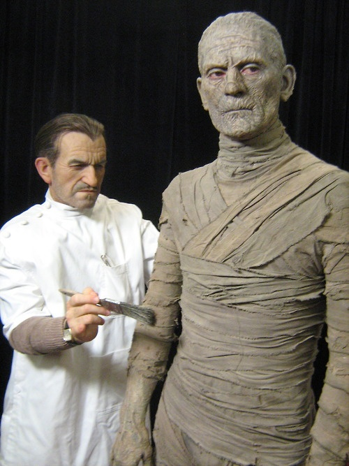 Full size Jack Pierce & Boris Karloff - Sculpted by the amazing Mike Hill