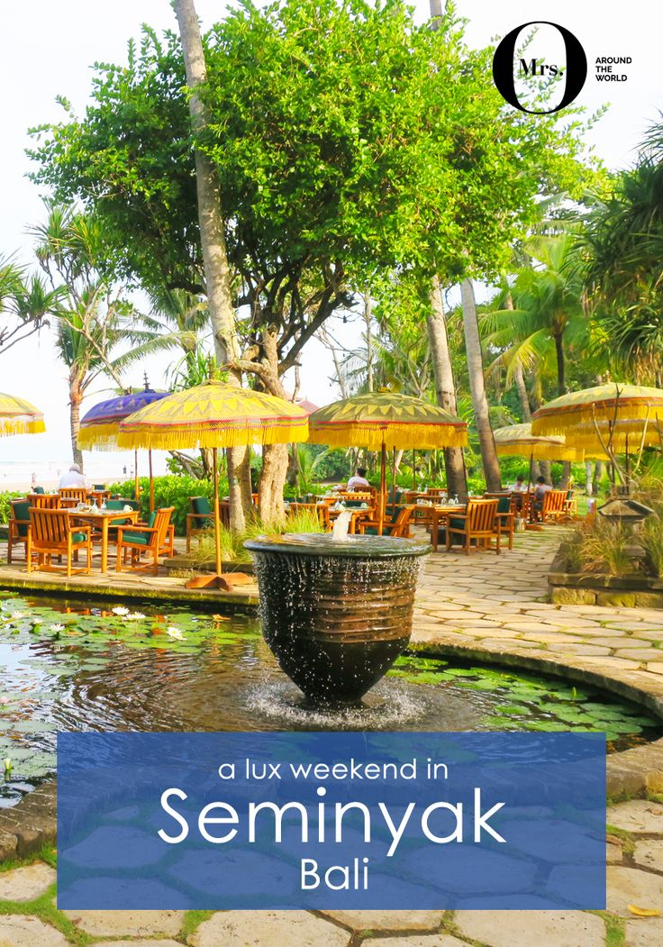 I wasn't sure what to expect about Seminyak, Bali, but it did grow on us after the second day. Despite having booked our plane tickets months before, I kind of left it to the last-minute to actually where to go and stay. I had asked my readers on Facebook and a plan was set. The Oberoi was the hotel we felt was the right choice for us, located in the centre of Seminyak (but once you enter the hotel, you feel like you are miles away). The beach view Lanai suite wasn't very modern, but very…