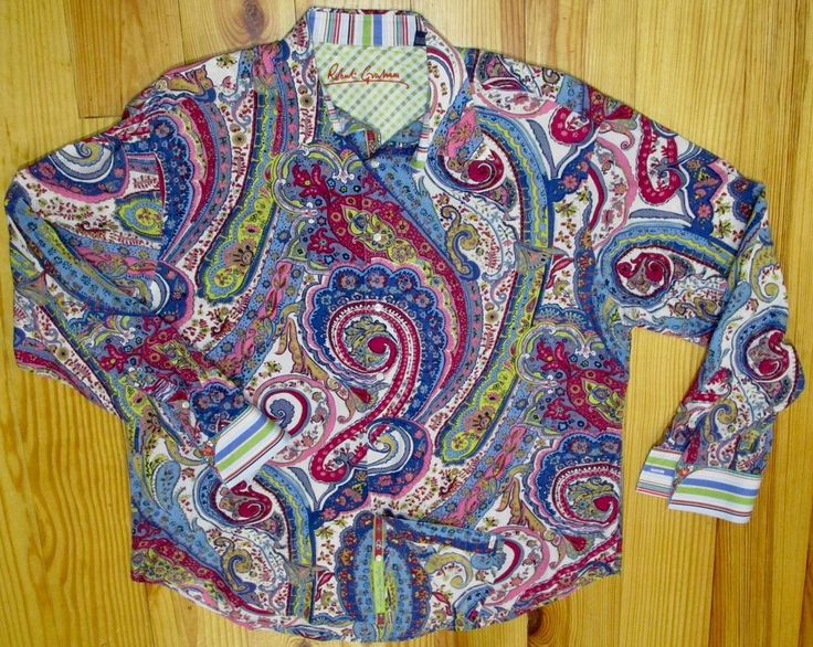 Robert Graham Men's Sport Shirt Classic Paisley #RobertGraham #ButtonFront