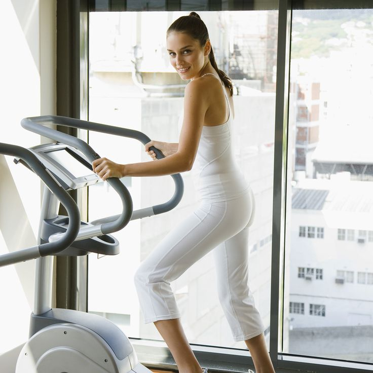 Cardio Workout: Elliptical Intervals Shrinking Recovery