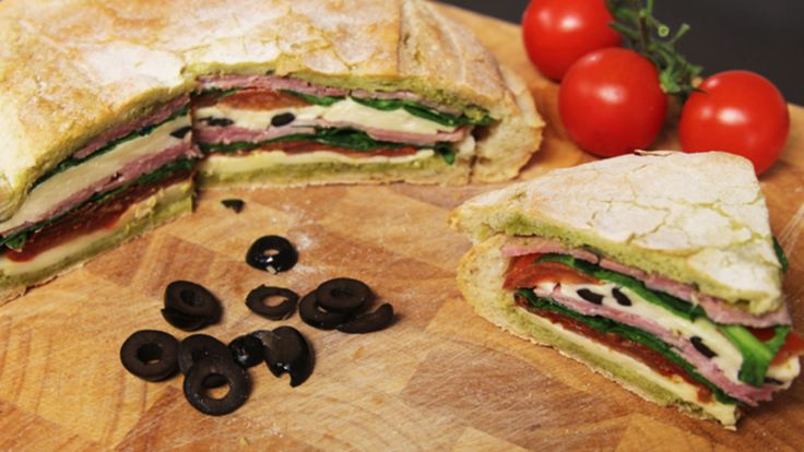 Take the stress out of preparing your kids' packed lunches with this amazingly tasty sandwich. Prepare it the night before and add all of your and your kids' favourite fillings. Or rustle it up for a picnic and impress all of your friends and family.