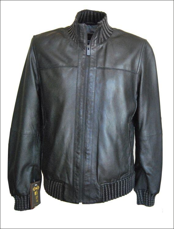 Ανδρικό δερμάτινο μπουφάν polo Μοντέλο: ML-944 Δέρμα: black nappa Τιμή: 415€