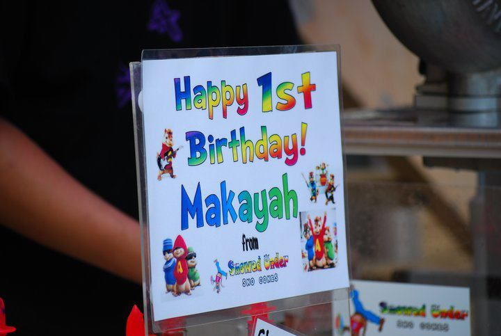 Makayah's 1st BD
