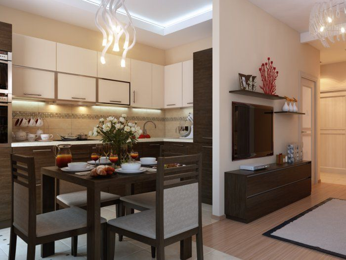 дизайн однокомнатной квартиры - Поиск в Google