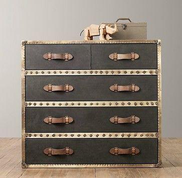 Voyager Steamer Dresser - eclectic - kids dressers - Restoration Hardware Baby & Child