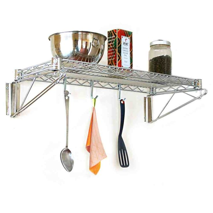Wall Mounted Wire Shelves