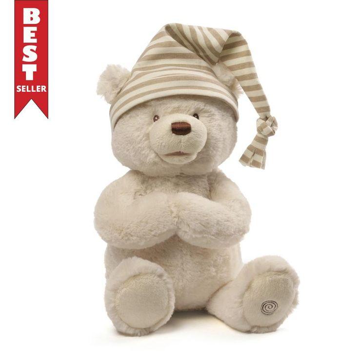 Animated Goodnight Prayer Bear