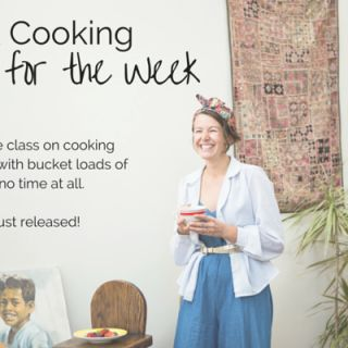 *New 2016 class* Quick Cooking Workshops: Cooking for the week