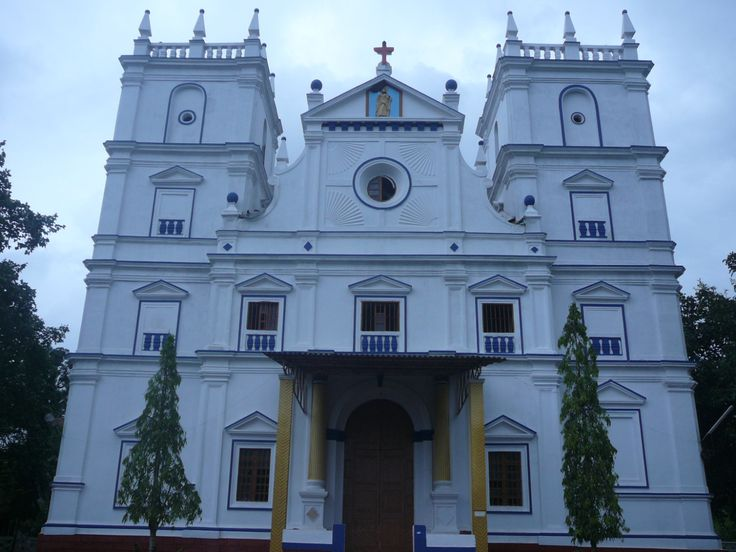 St. Bartholomew's Roman Catholic Church, Goa, India. Tradition says Bartholomew…