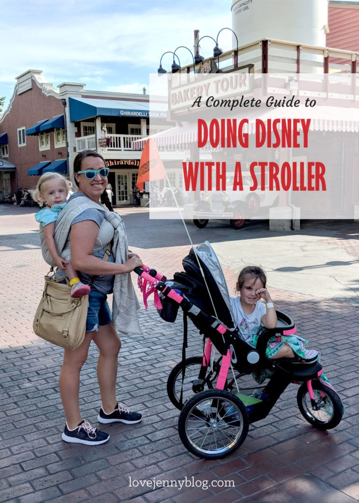 Disneyland Stroller Tips What to Know Before You Go in