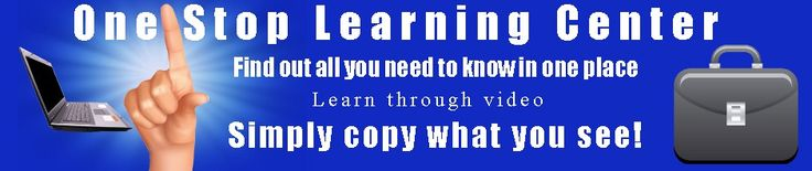 Free Registration now OPEN...Loads of free stuff in this website...Learn for free...Easy to follow video lessons...NO more Trying to interpret the written word which is often confused...WATCH the instructor and simply copy what you see...GET IT DONE QUICKER...GO TAKE A LOOK!...RECOMMENDED!- I Love It!