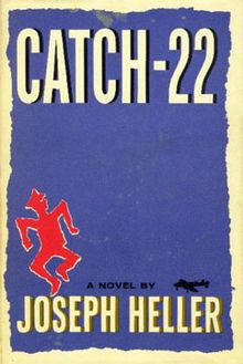 Catch-22 is a satirical novel by the American author Joseph Heller. It is set during World War II from 1942 to 1944. It is frequently cited as one of the greatest literary works of the twentieth century. The novel follows Captain John Yossarian, a U.S. Army Air Forces B-25 bombardier. The novel looks into the experiences of Yossarian and the other airmen in the camp. It focuses on their attempts to keep their sanity in order to fulfill their service requirements so that they may return home.