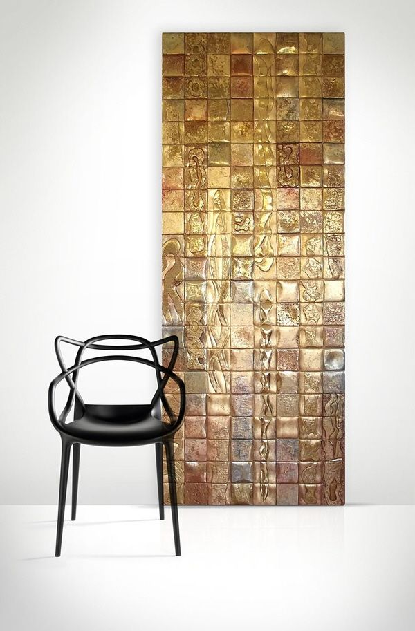 Kartell masters chair in front of gold decor by zoya for Decoration kartell