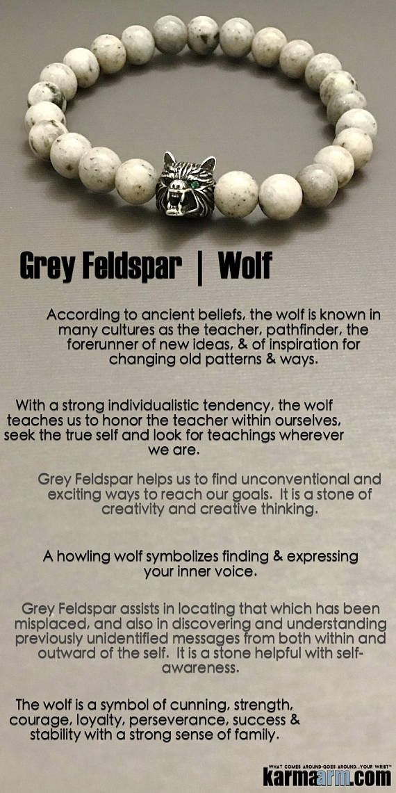The #wolf is a symbol of cunning, #strength, #courage, #loyalty, perseverance, #success & stability with a strong sense of #family.     #Beaded #Beads #Bijoux #Bracelet #Bracelets #Buddhist #Chakra #Charm #Crystals #Energy #gifts #gratitude #Handmade #Healing #Jewelry #Kundalini #LawOfAttraction #LOA #Love #Mala #Meditation #Mens #prayer #pulseiras #Reiki #Spiritual #Stacks #Stretch #Womens #Yoga #YogaBracelets #prayer