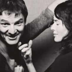 Lena Headey and Pedro Pascal. OMG they look fantastic together! video here: http://vimeo.com/90776927