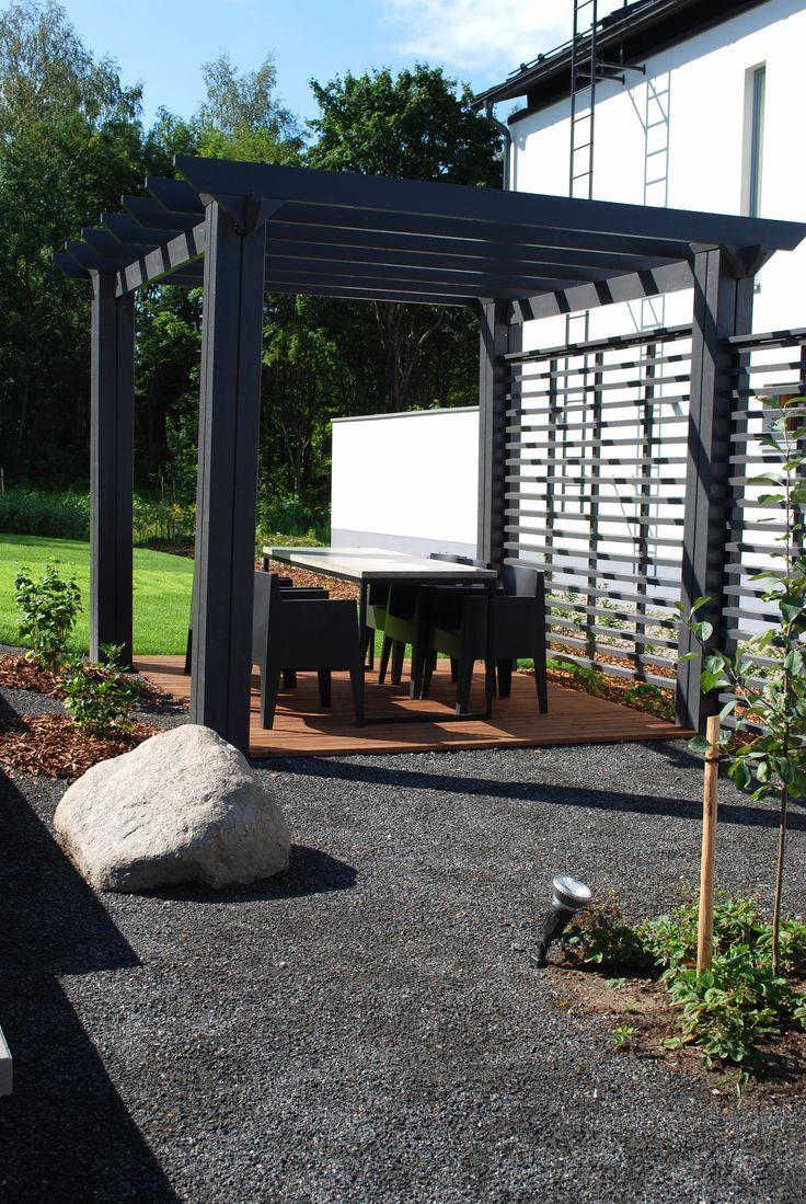 98 best images about katokset ja pergolat canopies and pergolas on pinterest gardens arbors - Gazebo pergola designs dream spot ...