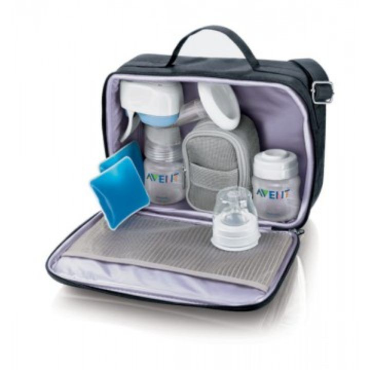 Avent electronic breast pump - great from on the go!