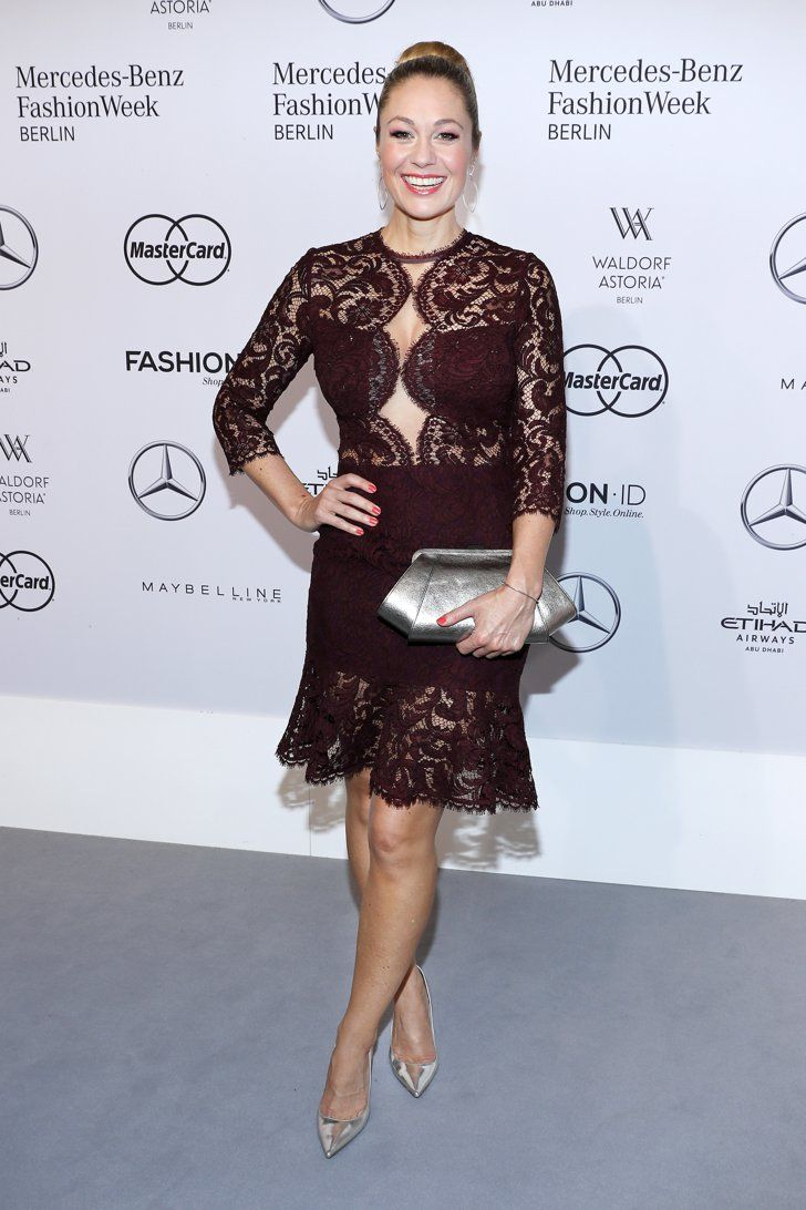 Pin for Later: Seht alle Stars bei der Berlin Fashion Week Ruth Moschner bei der Modenschau von Ewa Herzog