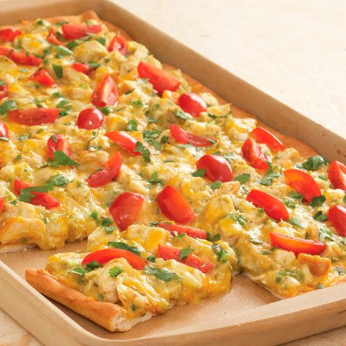 Chicken Enchilada Pizza - The Pampered Chef® This amazing stone can evenly cook so much amazing recipes!