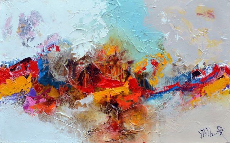 130x80cm door William Malucu - Te huur/te koop via Abrahamart.com  #art #painting #kunst #kunstuitleen #WilliamMalucu #abrahamart #bramreijnders #Eindhoven