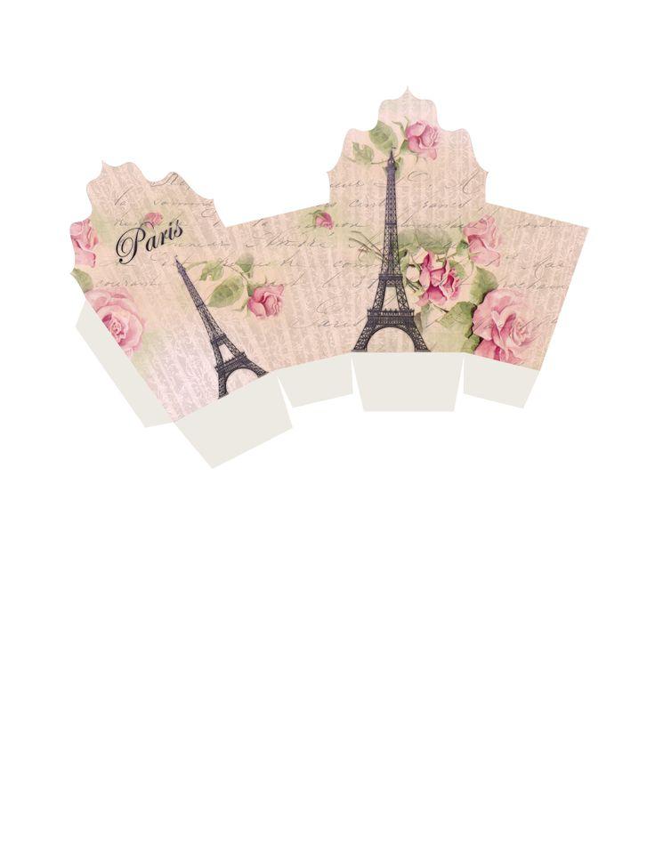 Free printable gift box – Paris |
