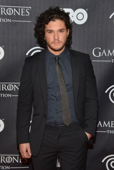 Kit Harington in @Angela Gray Greene FAIR #gameofthrones #jonsnow