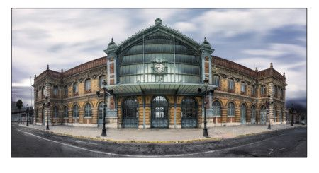 las 11 estaciones de tren más bonitas de España Antigua estación de Almería