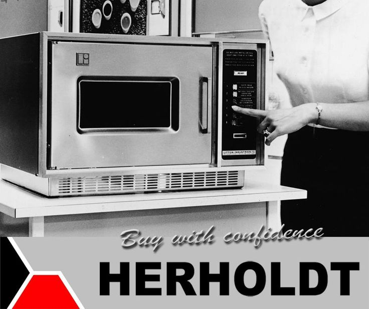 """Percy Spencer invented the first microwave oven after World War II from radar technology and named it the """"Radarange"""". It was first sold in 1946. #Herholdt #TBT #appliances"""
