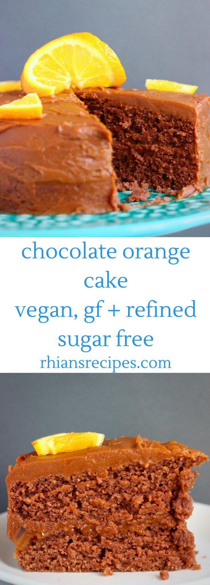 Best 25+ Chocolate orange cakes ideas on Pinterest ...