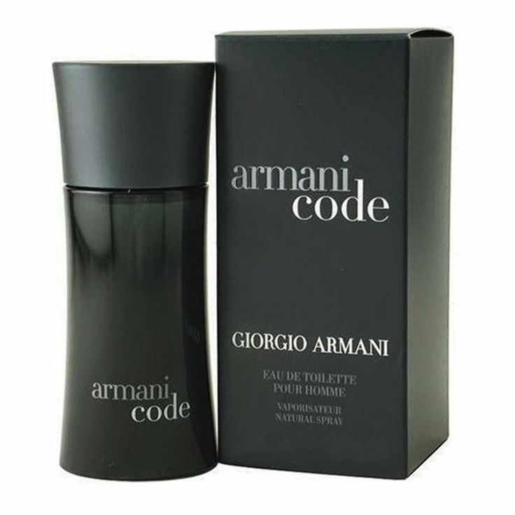 This smell has to be part of your daily make up as a man ~ Armani Code