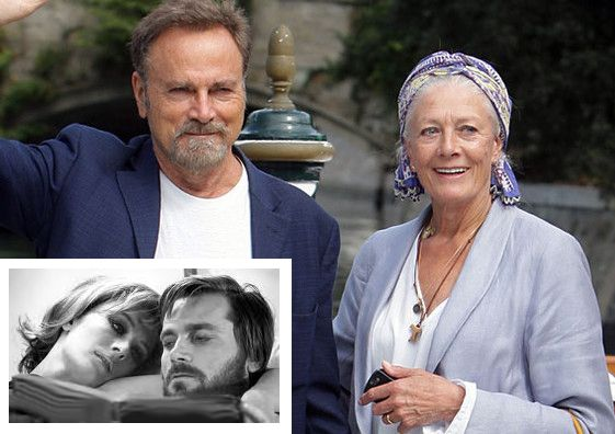 Many years ago and today.  Franco Nero & wife Vanessa Redgrave.