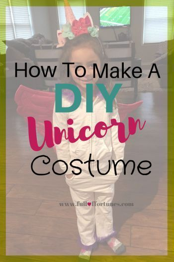 How To Make A DIY Unicorn Costume & Head Band For $7  #Band #costume #DIY #Unico…   – Head Wraps