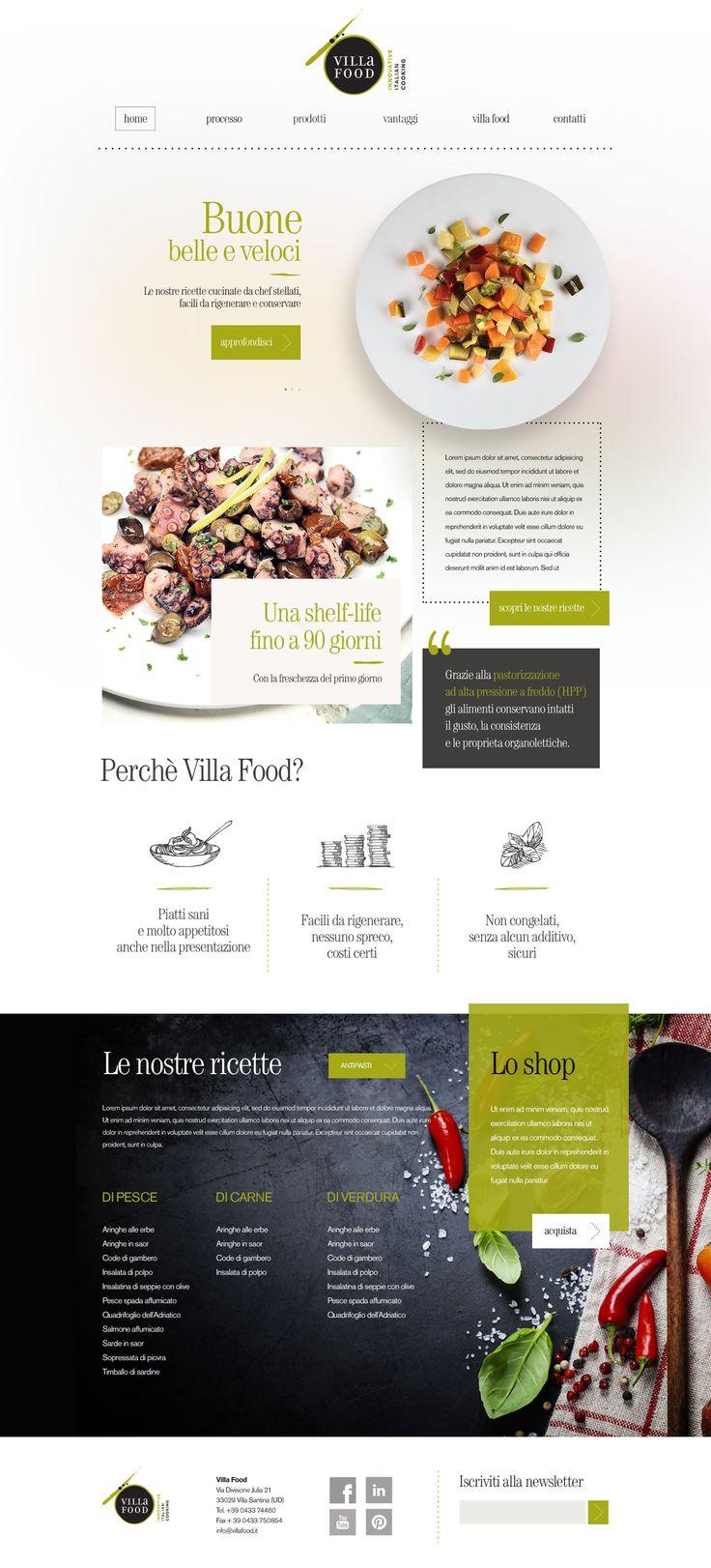 Villa Food - Web Site